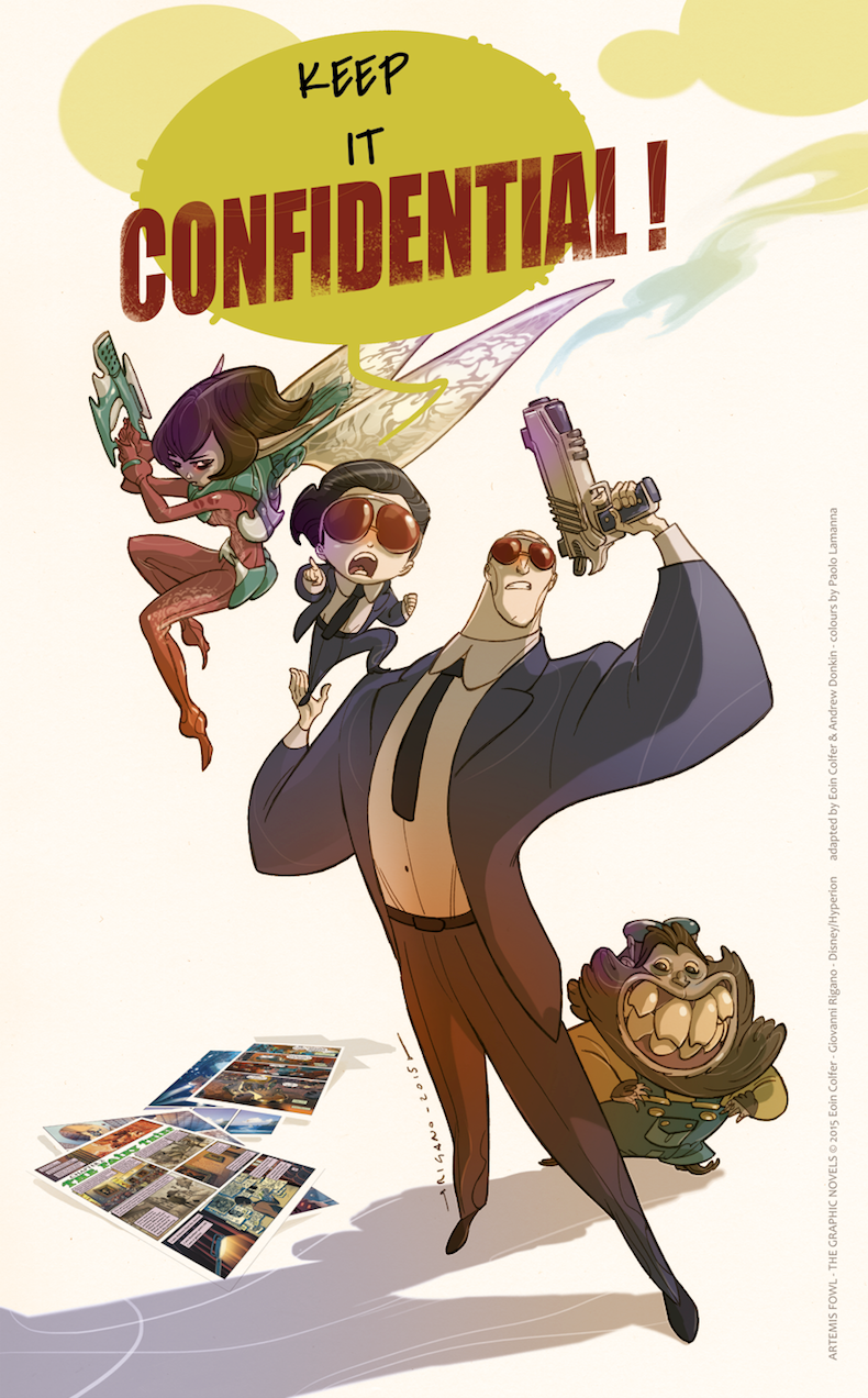 Celebrating 10 Years of Artemis Fowl Confidential